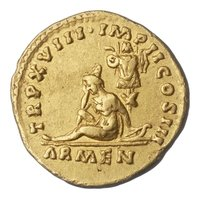 """Aureus des Marcus Aurelius  Provenance/Rights:  Museum August Kestner (CC BY-NC-SA)"