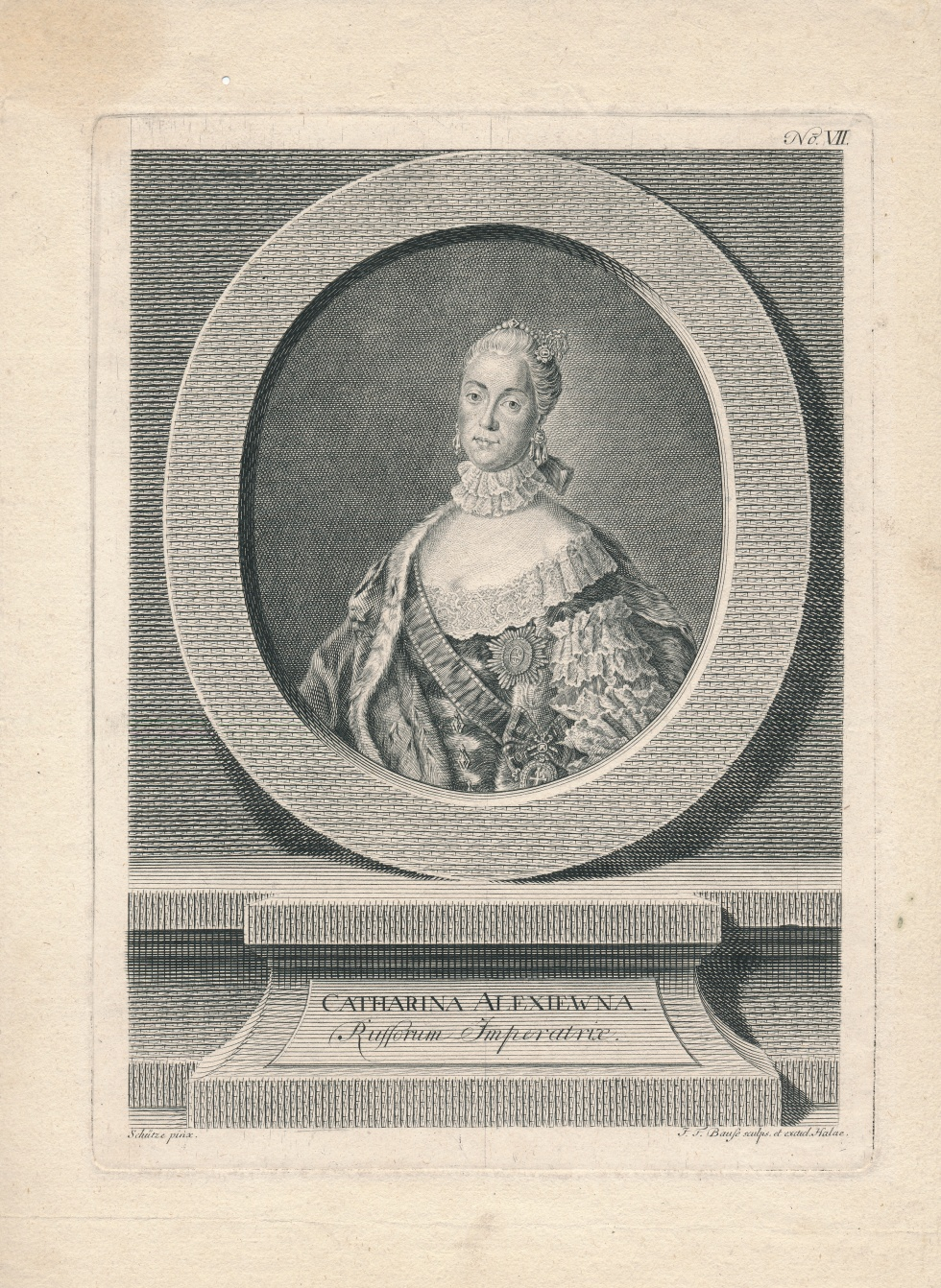 """CATHARINA ALEXIEWNA Russorum Imperatrix"" - Katharina II. (Schlossmuseum Jever CC BY-NC-SA)"